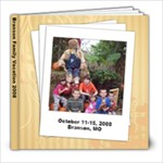 Branson 08 - 8x8 Photo Book (20 pages)