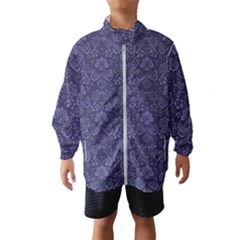 Damask Purple Wind Breaker (kids)