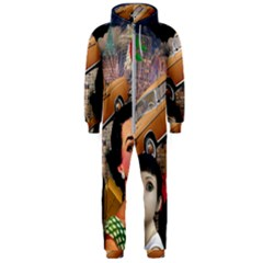 Out In The City Hooded Jumpsuit (men)