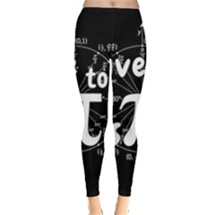Pi Day Leggings  by Valentinaart