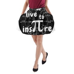 Pi Day A Line Pocket Skirt by Valentinaart