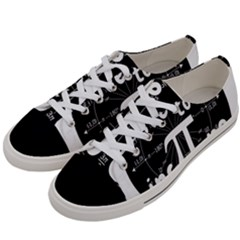 Pi Day Women s Low Top Canvas Sneakers by Valentinaart