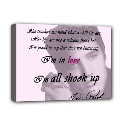 Elvis Presley   All Shook Up Deluxe Canvas 16  X 12