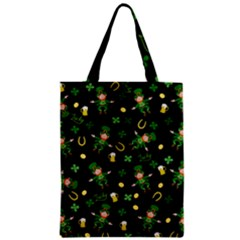 St Patricks Day Pattern Classic Tote Bag by Valentinaart