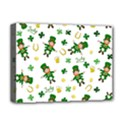 St Patricks day pattern Deluxe Canvas 16  x 12   View1