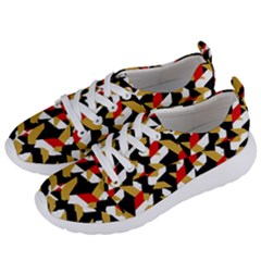 Colorful Abstract Pattern Women s Lightweight Sports Shoes by dflcprints