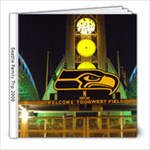 Seattle Family Trip 2008 - 8x8 Photo Book (20 pages)