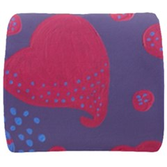 Lollipop Attacked By Hearts Back Support Cushion