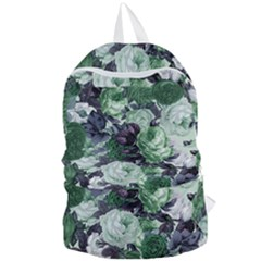 Rose Bushes Green Foldable Lightweight Backpack by snowwhitegirl