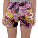Red Retro Pop Sleepwear Shorts View2