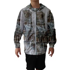 Santa Claus 1845749 1920 Hooded Wind Breaker (kids)