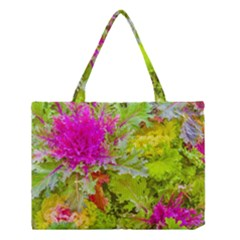 Colored Plants Photo Medium Tote Bag by dflcprints