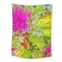 Colored Plants Photo Medium Tapestry by dflcprints