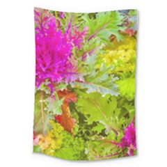 Colored Plants Photo Large Tapestry by dflcprints