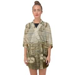 Lady 2523423 1920 Half Sleeve Chiffon Kimono