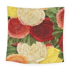 Flowers 1776429 1920 Square Tapestry (large) by vintage2030