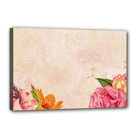 Flower 1646045 1920 Canvas 18  X 12  by vintage2030