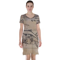 Motorcycle 1515873 1280 Short Sleeve Nightdress