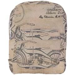 Motorcycle 1515873 1280 Full Print Backpack by vintage2030