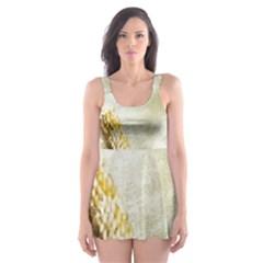 Background 1660942 1920 Skater Dress Swimsuit by vintage2030