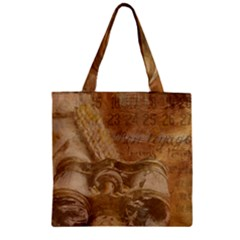Background 1660940 1920 Zipper Grocery Tote Bag by vintage2030