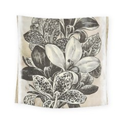 Flowers 1776382 1280 Square Tapestry (small) by vintage2030