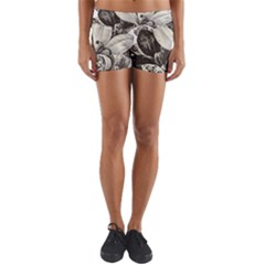 Flowers 1776483 1920 Yoga Shorts by vintage2030