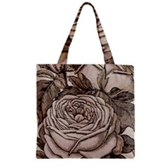 Flowers 1776630 1920 Zipper Grocery Tote Bag by vintage2030