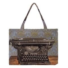 Typewriter Medium Tote Bag by vintage2030
