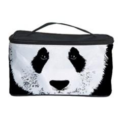 Panda  Cosmetic Storage Case by Valentinaart