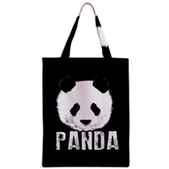 Panda  Zipper Classic Tote Bag by Valentinaart
