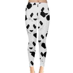Panda Pattern Leggings  by Valentinaart