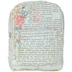 Rose Book Page Full Print Backpack by vintage2030