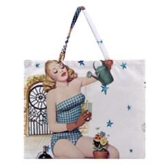 Retro 1265769 960 720 Zipper Large Tote Bag by vintage2030