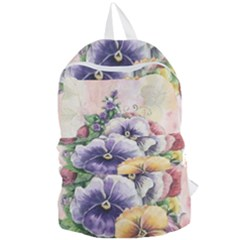 Lowers Pansy Foldable Lightweight Backpack by vintage2030