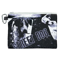 Street Dogs Canvas Cosmetic Bag (xl) by Valentinaart