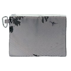 Stop Action Pigeon Canvas Cosmetic Bag (xl) by snowwhitegirl