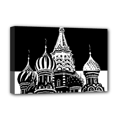 Moscow Deluxe Canvas 18  X 12   by Valentinaart
