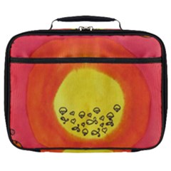 Red Sun Full Print Lunch Bag by snowwhitegirl