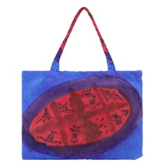 Red Egg Medium Tote Bag by snowwhitegirl