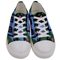 Smiling House Women s Low Top Canvas Sneakers