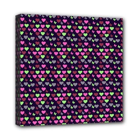 Hearts Butterflies Blue Pink Multi Function Bag by snowwhitegirl