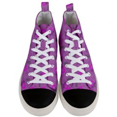 Punk Baby Violet Men s Mid Top Canvas Sneakers
