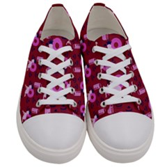 Punk Baby Red Women s Low Top Canvas Sneakers