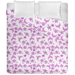 Violet Winter Hats Duvet Cover Double Side (california King Size) by snowwhitegirl