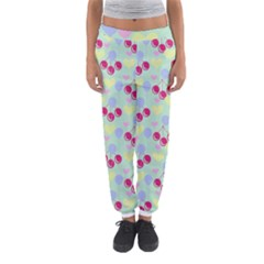 Birthday Cherries Women s Jogger Sweatpants by snowwhitegirl