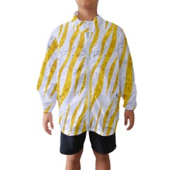 Skin3 White Marble & Yellow Marble (r) Wind Breaker (kids)