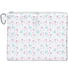 Pink Hats Canvas Cosmetic Bag (xxxl) by snowwhitegirl
