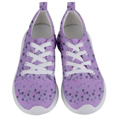 Heart Drops Violet Women s Lightweight Sports Shoes