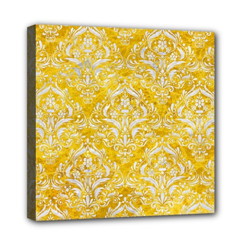 Damask1 White Marble & Yellow Marble Multi Function Bag	 by trendistuff